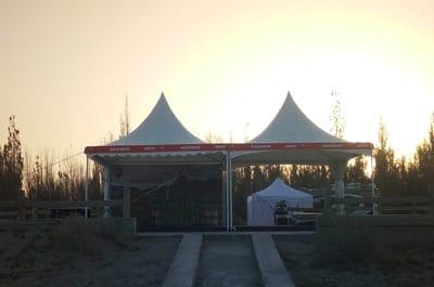 5米尖顶大帐篷